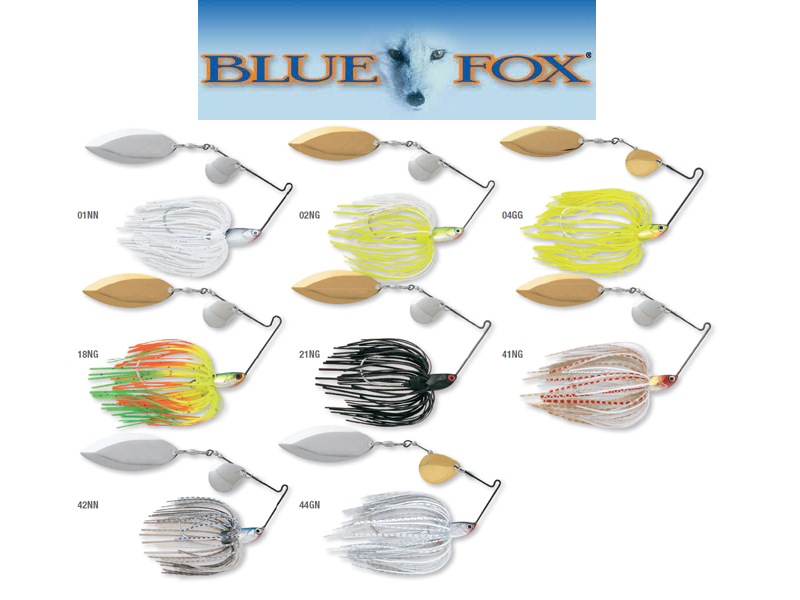 Blue Fox TI-1 Spinner Bait (Size: 1/4, Weight: 7g, Pack: 1, Colour: 01NN)