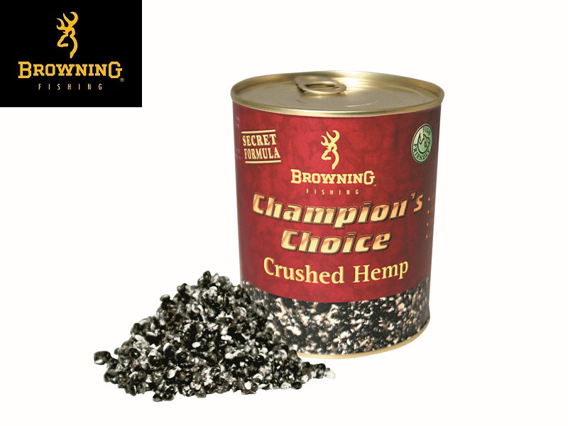 Browning Groundbait Champion's Choice Crushed Hemp (590g)