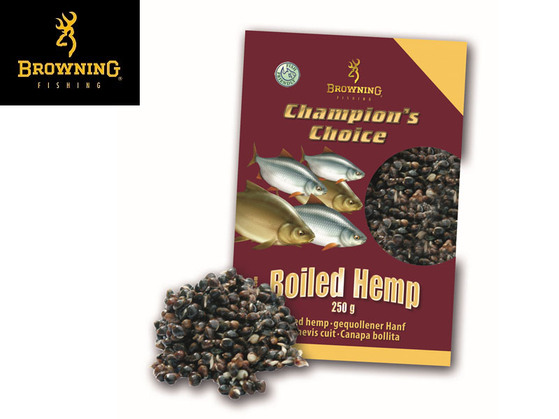 Browning Groundbait Champion's Choice Soaked Hemp (250g)