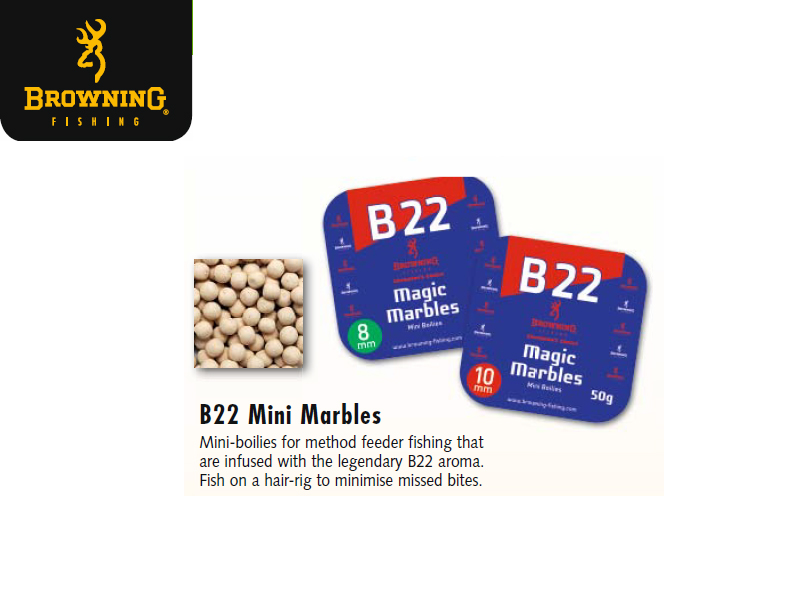 Browning B22 Mini Marbles (Size: 10mm, Content: 50g)