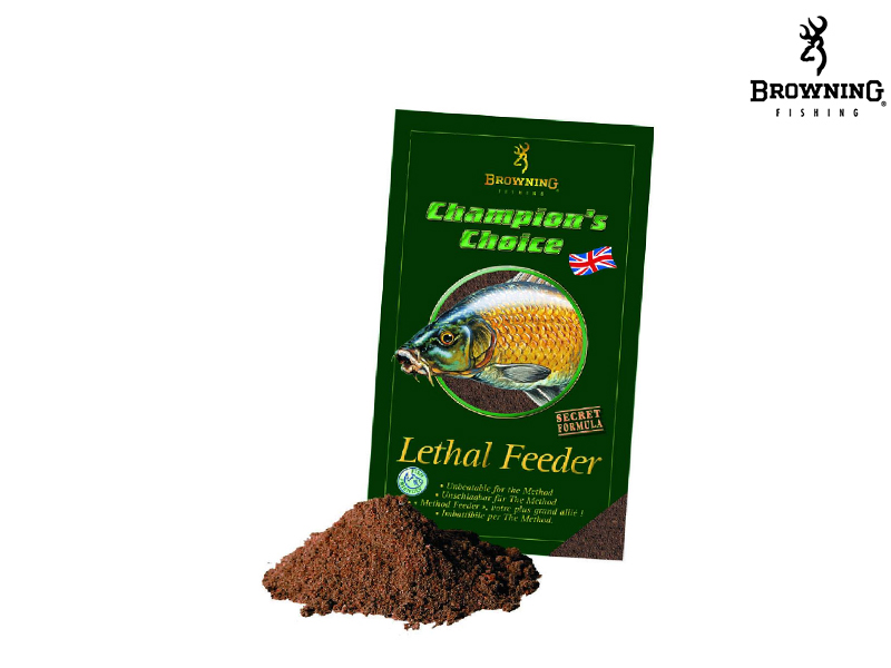 Browning Groundbait Champion's Choice Lethal Feeder (1Kg)