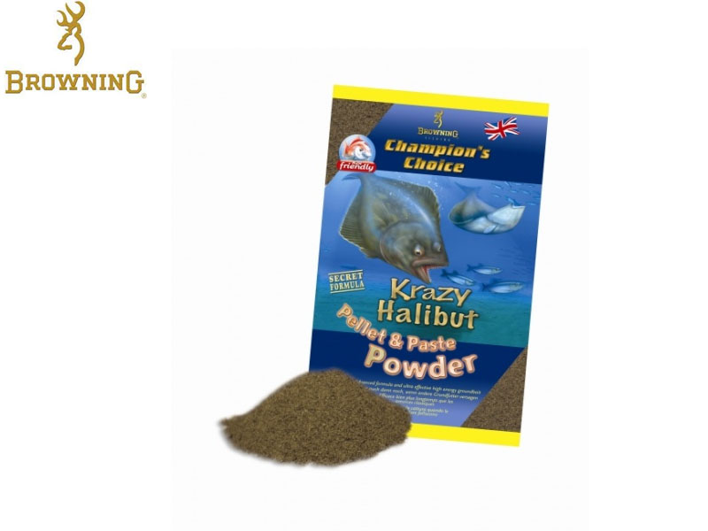 Browning Krazy Halibut Pellet Powder (1Kg)