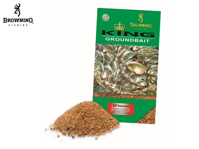 Browning King Groundbait (All Seasons, 1kg)