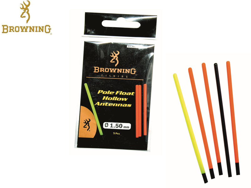 Browning Pole floats with hollow tips (Length: 55mm, &#8960: 1.5mm, 5pcs)
