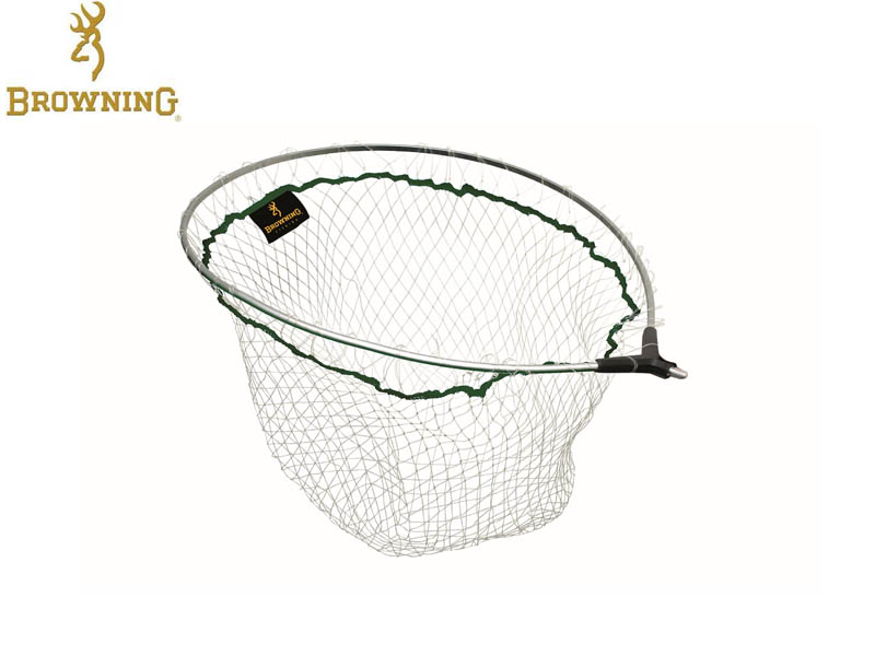 Browning Landing Net Head Magic Monyl River Scooper L (Size: 55 x 45cm)