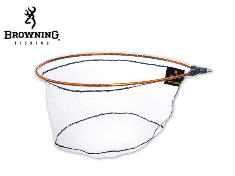 Browning River Scooper Monofilament (Length:55cm, Width:45cm, Depth:30cm, Mesh:20x20mm)