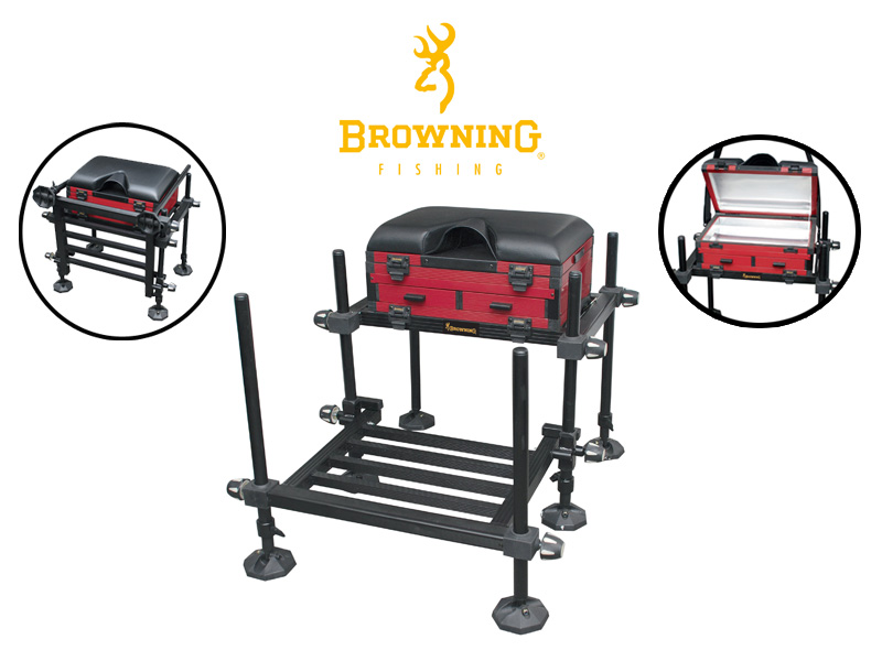 Browning Xitan Seat Box : 24Tackle, Fishing Tackle Online Store