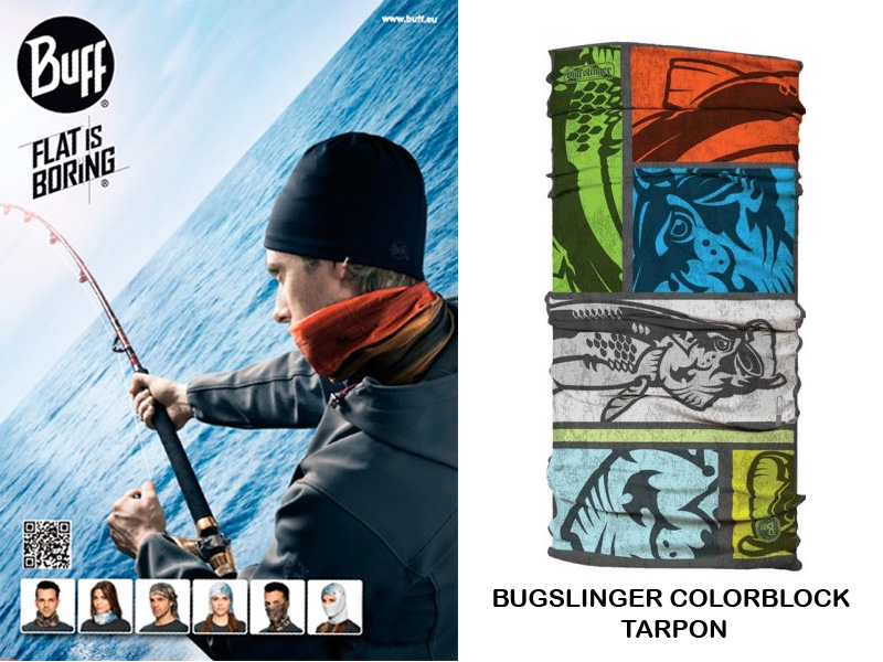 BUFF Angler's Collection Bugslinger Color Block Tarpon