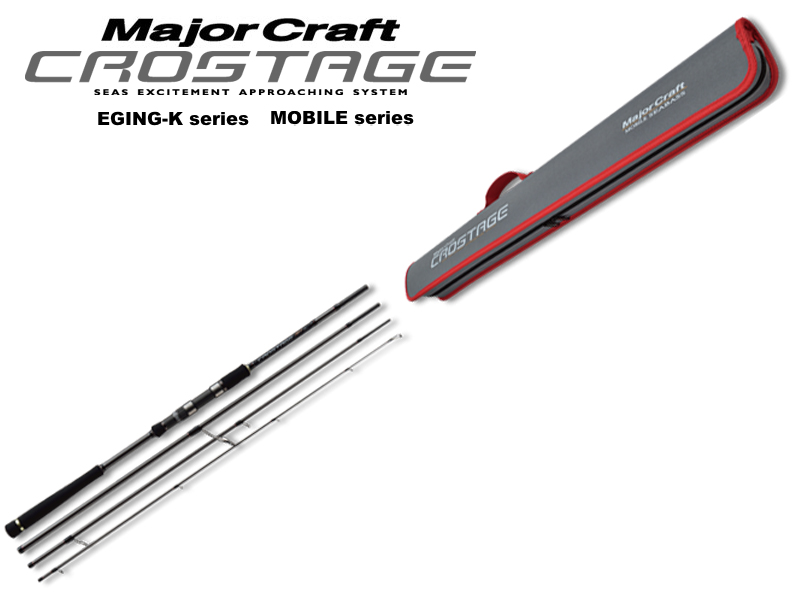 MajorCraft Crostage New Mobile Eging CRK-864E (Length: 2.62mt, Egi: 2.5-3.5)