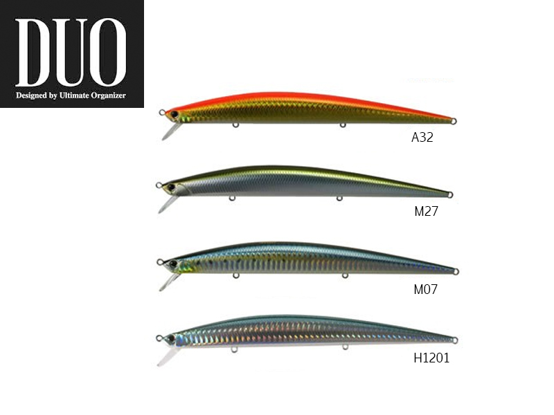 DUO Slim Tide-Minnow 175 Lures (Length: 175mm, Weight: 29g, Model: A32)