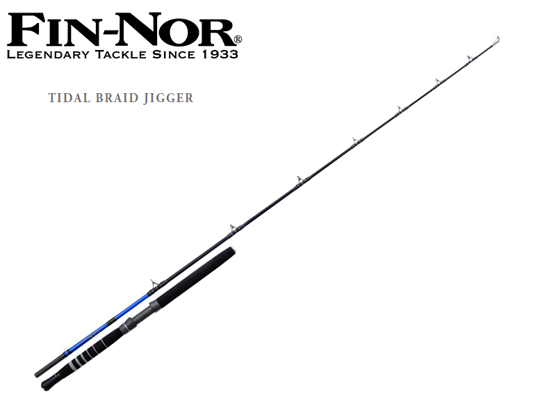 Fi-Nor Tidal Braid Jigger( Length: 2.40m, Sections: 1+1, C.W.: 12-20lbs, Tr.-Length: 1.77m, Weight: 511g)