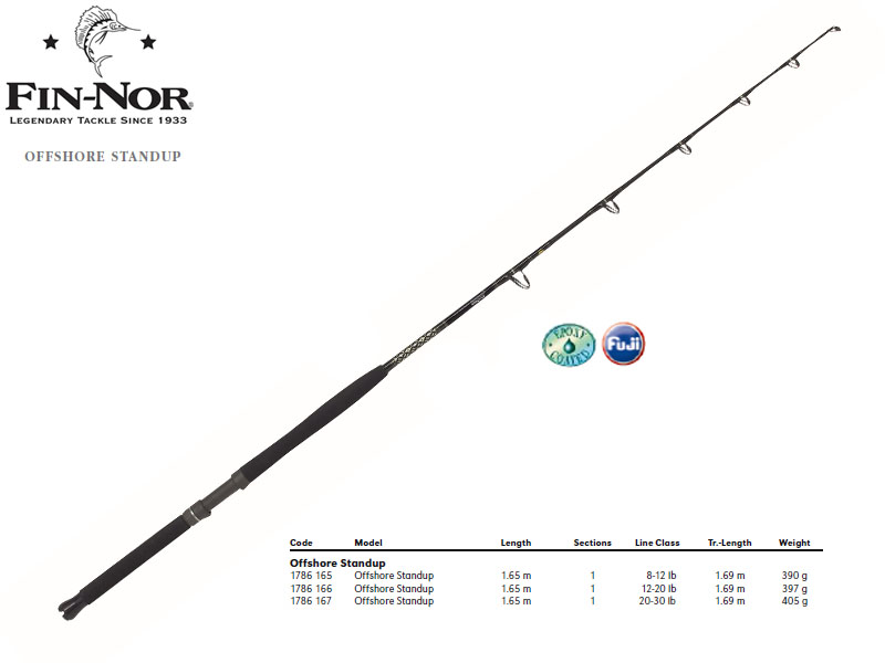 Fin-Nor Offshore Standup (1.65m, Action: 08-12lb)