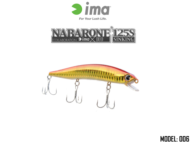 IMA Nabarone 125S (Length: 125mm, Weight: 17.5gr, Color: 006)