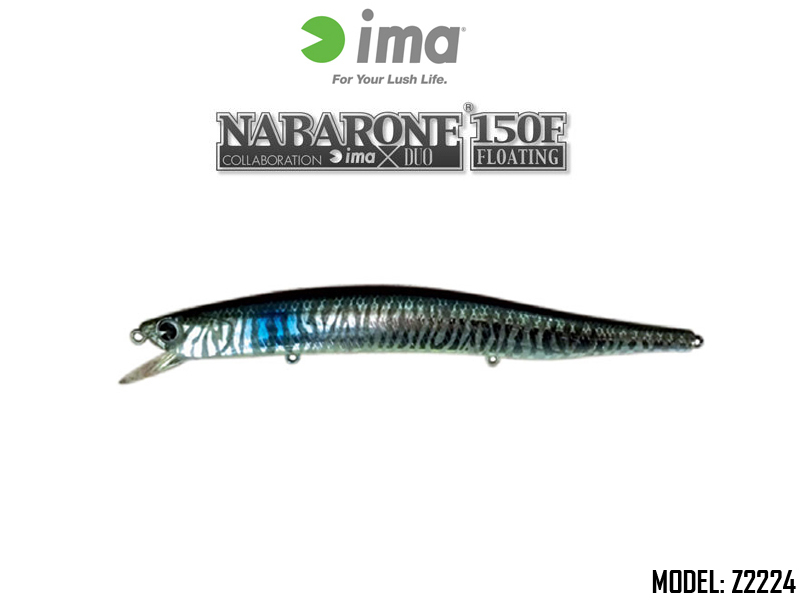 IMA Nabarone 150F (Length: 150mm, Weight: 23gr, Color: Z2224)