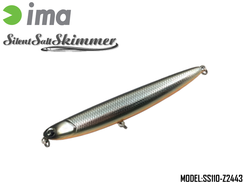 IMA Silent Salt Skimmer (Length:110mm, Weight:14gr, Color:Z2443)