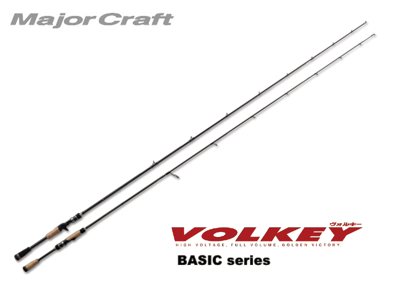 MajorCraft Volkey Basic Baitcasting VKC-662M (Length: 2.01mt, Lure: 1/4-3/4 oz)