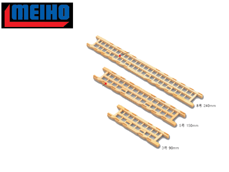 Meiho Plastic Winder No. 3 (Size: 90mm)