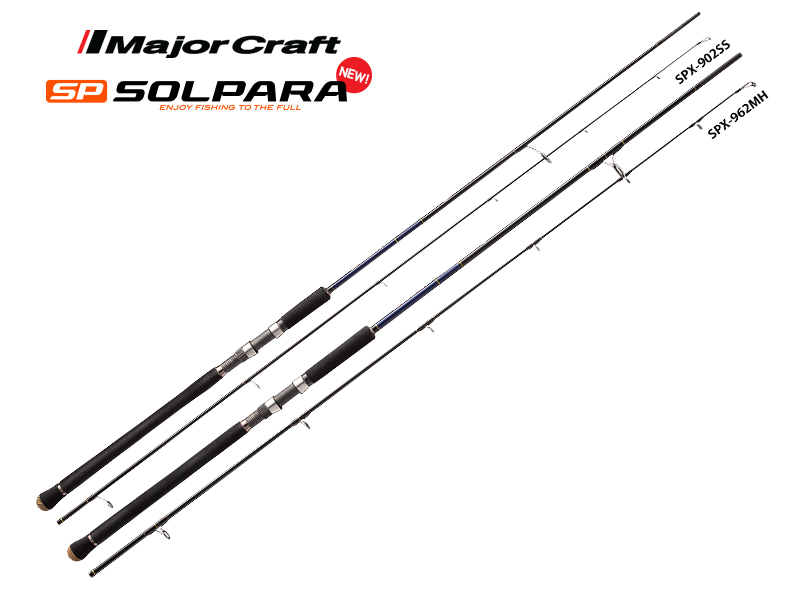 Major Craft New SP Solpara Shore Jigging Series SPX-1002H (Length: 3.05mt, Lure: 60-100gr)