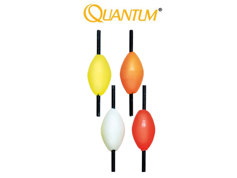 Quantum Trout Pilot Floating Device (13mm, Color: Fluo, 5pcs)