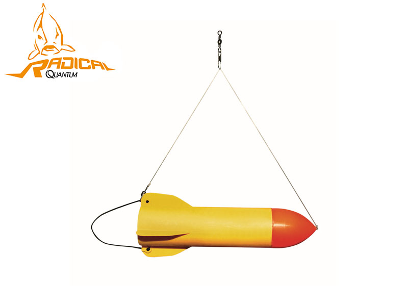 Quantum Radical Bait Rocket (Medium, Size: 21cm)