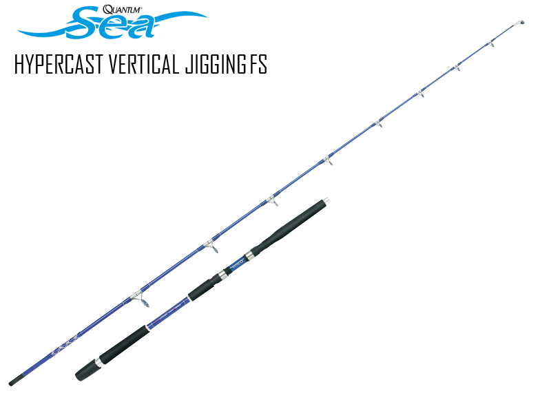 Quantum Hypercast Vertical Jiggging FS (Length: 1.80mt, C.W: 150-300gr, Sections:2)