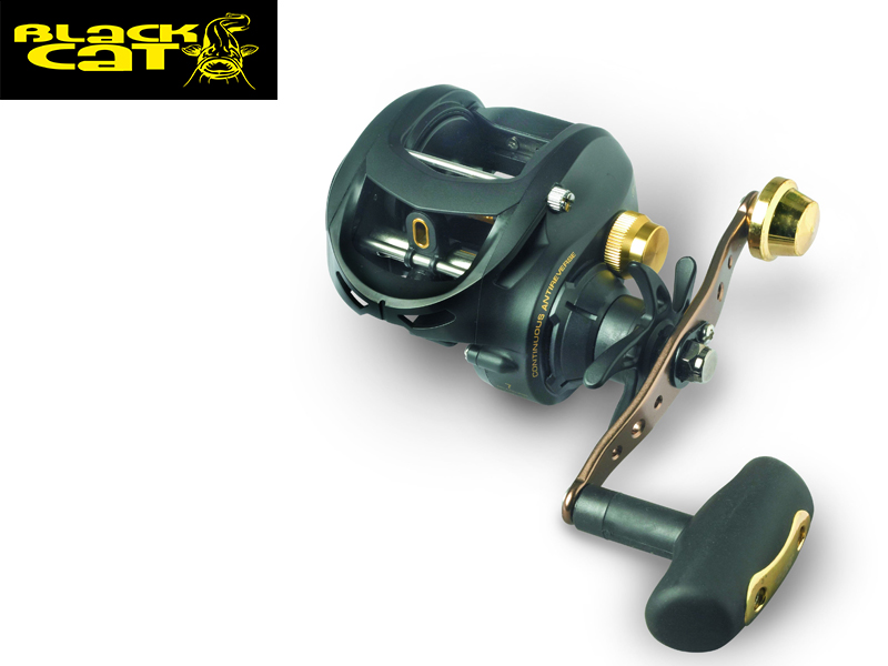 Black Cat BC2 301 LH Reel (Model: 301 LH, m / mm: 210 / 0,26,Gear Ratio:5,4:1, BB: 7, Weight: 273 g)