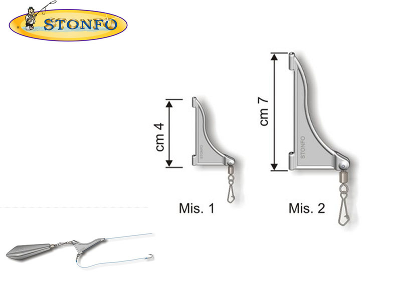 Stonfo Super Booms (Size 1: cm 4, 2pcs)