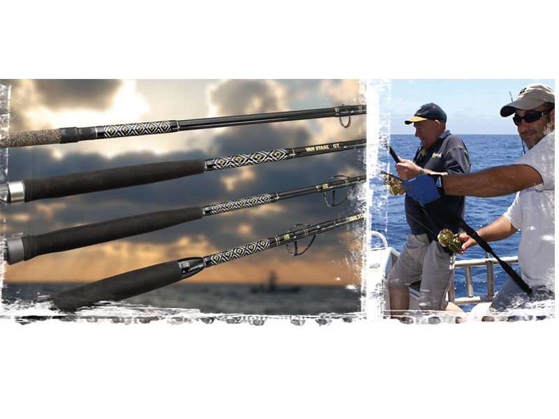 Van Staal Spinning Rod VSGT801 (Length: 2.40m, Line: 30-50#)