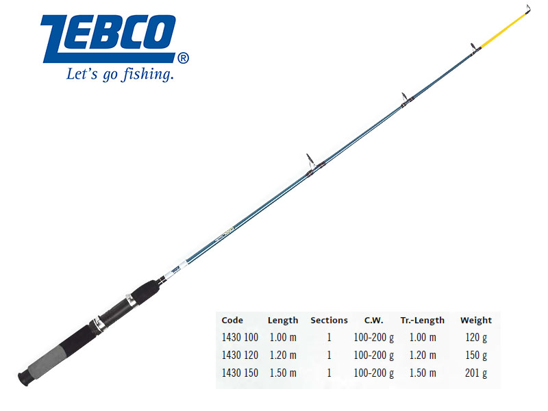 Zebco Cool Solid 3.3'-5' (1.20m, 100g - 200g)