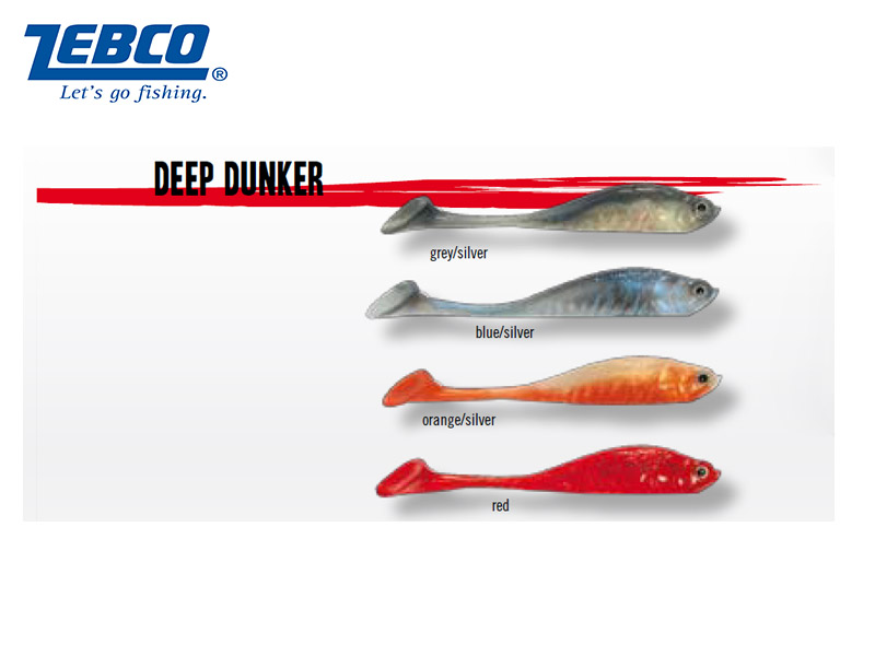 Zebco Deep Tunker (11.5cm, red, 5pcs)