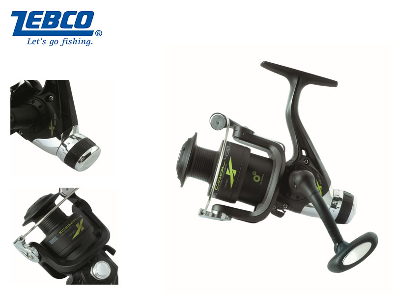 Zebco Cool X 430 RD Reel (4BB)