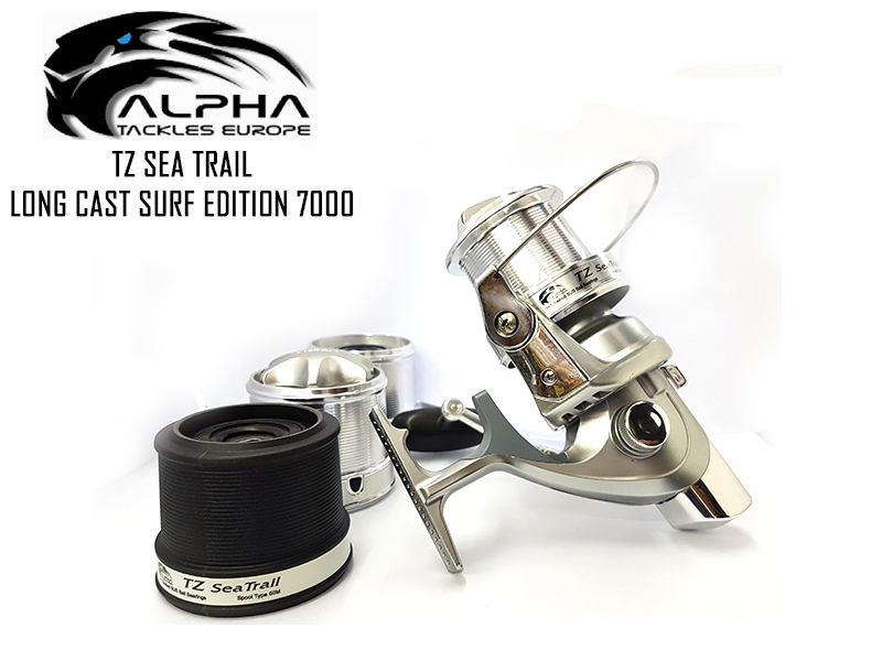 Alpha Tackle TZ Seatrail Long Cast Surf Edition 7000