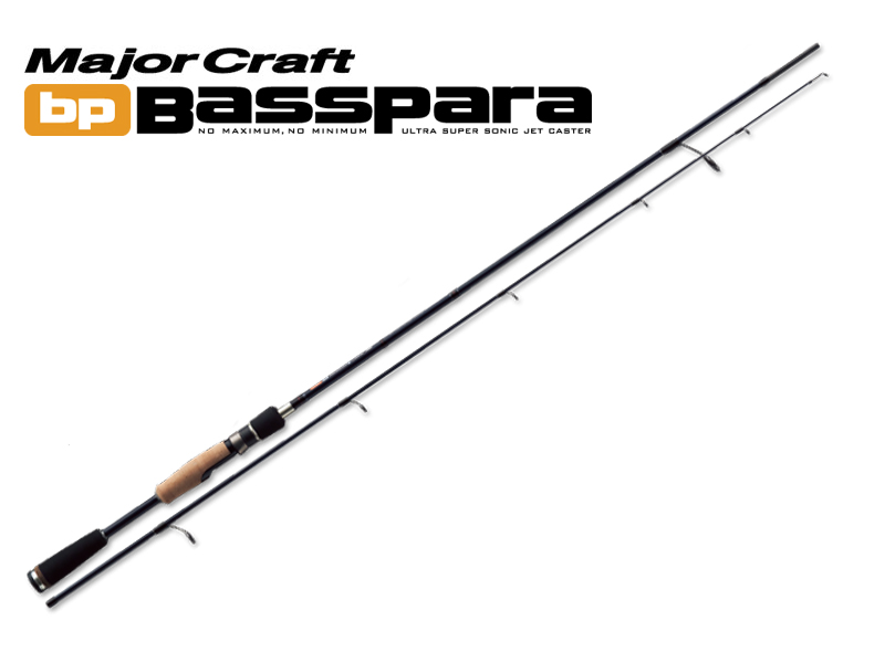 MajorCraft Basspara 2pcs Series Spinning BPS-632ML (Length:1.92mt, Lure:1/8-3/8 oz)