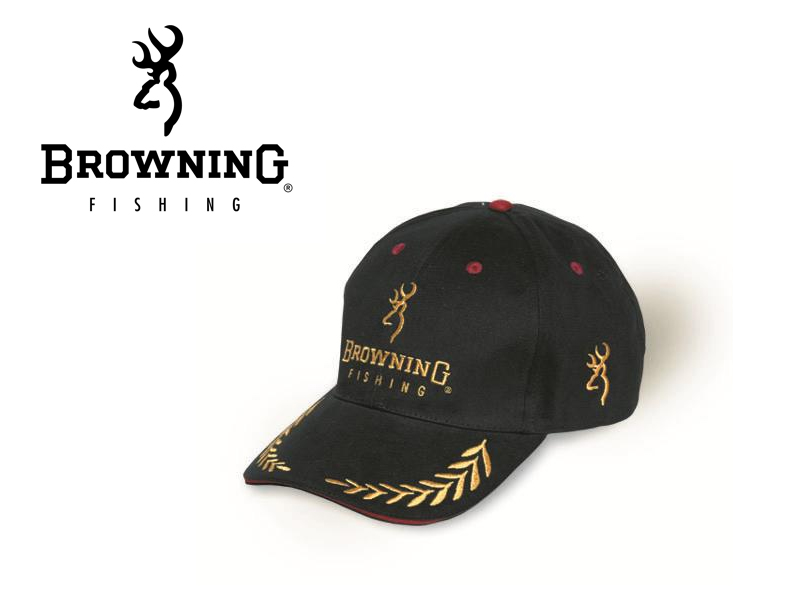 Browning Cap Black/Burgandy
