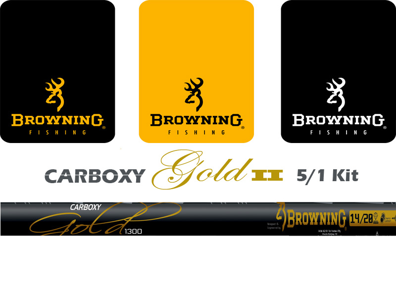 Browning Carboxy Gold II 5/1 Kit