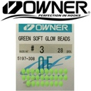 Owner 5197 Soft Glow Beads Green