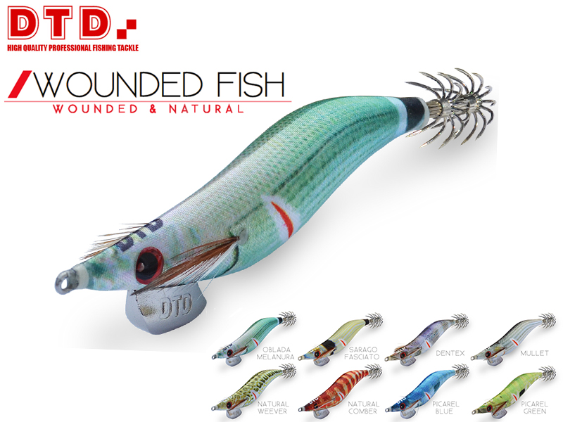 DTD Wounded Fish Oita (Size:3.5, Color: Sarago Fasciato)
