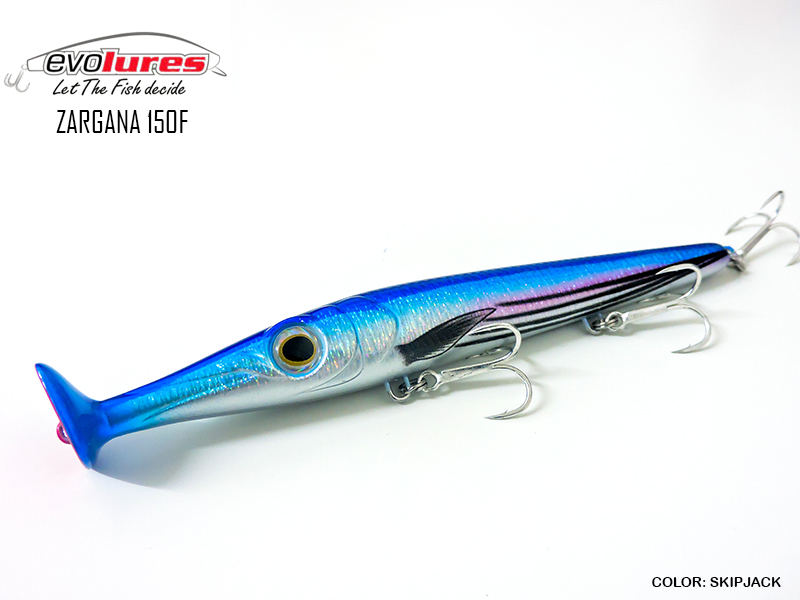 Evo Lures Zargana 150F (Length: 150mm, Weight: 21gr, Color: Skipjack)