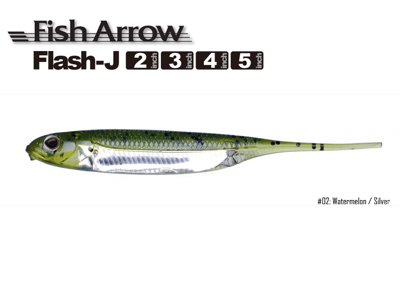 5085 Details about  /Fish Arrow Soft Lure Flash Dama k2 Inch 8 Piece per pack #04