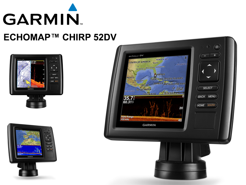 Garmin echoMAP� CHIRP 52dv Transducer Version