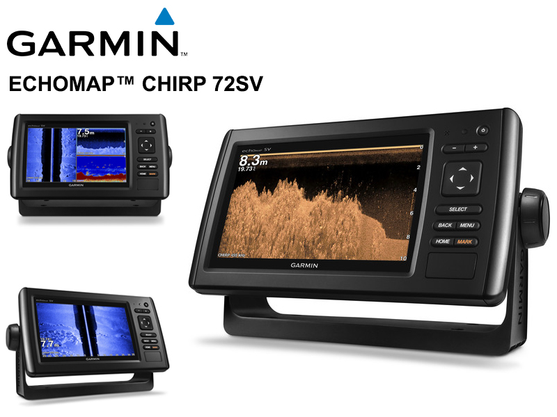 Garmin echoMAP� CHIRP 72sv Transducer Version