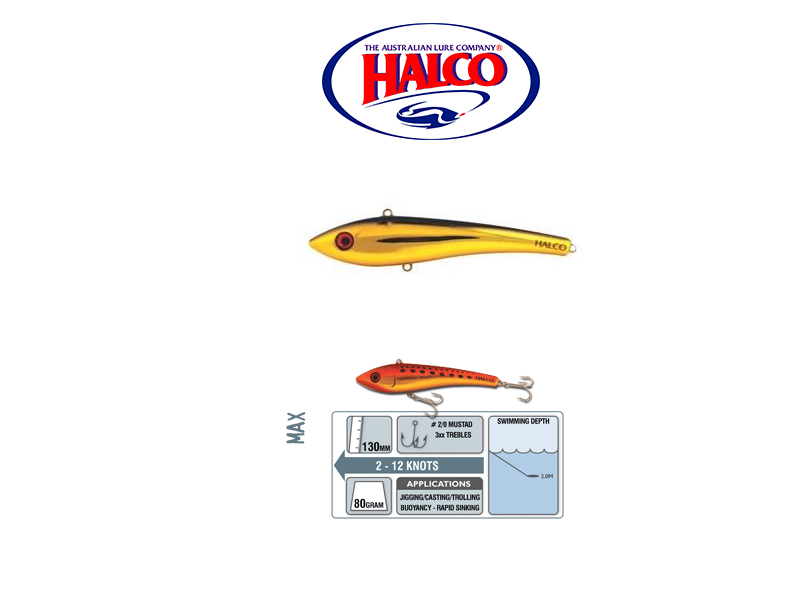 HAlco Max 130 (130mm, 80gr, Color: H51)