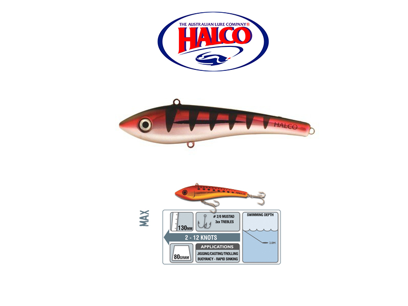 HAlco Max 130 (130mm, 80gr, Color: R15)