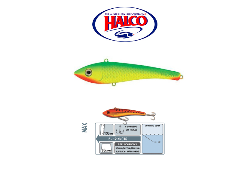 HAlco Max 130 (130mm, 80gr, Color: R7)