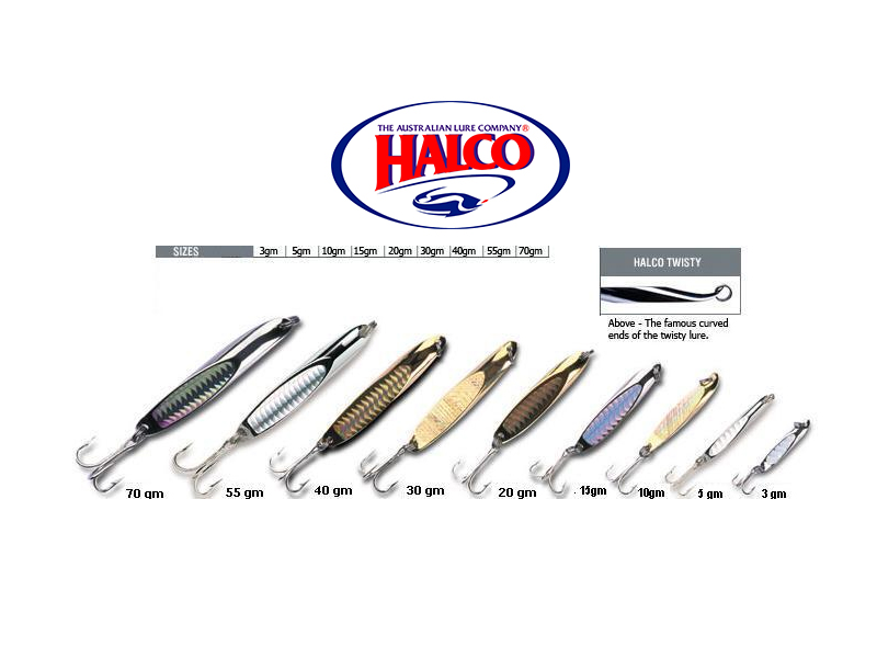 Halco Twisty (Chrome, 70gr)