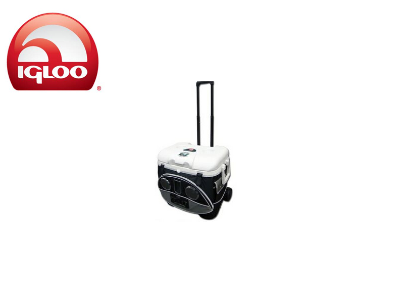 Igloo Cooler Cool Fusion™ 40 Quart IcyTunes™ Roller (IcyTunes, 38 liters)