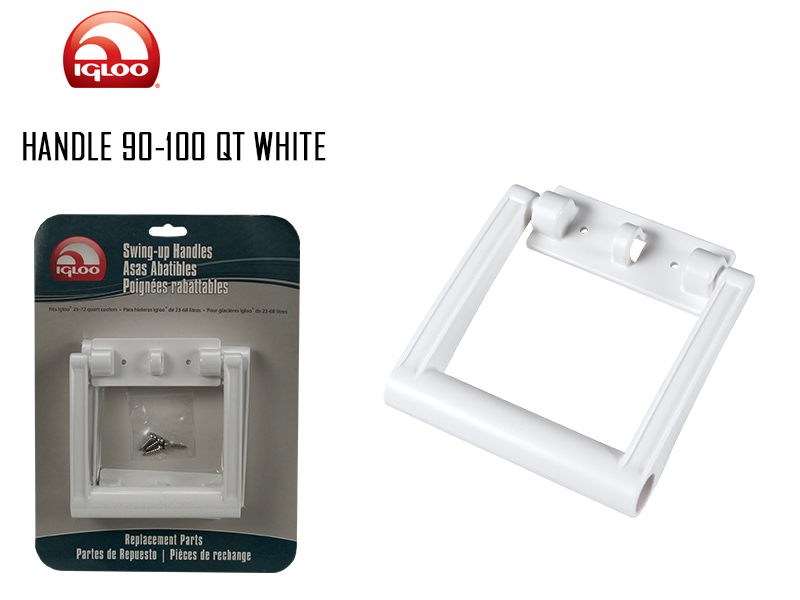 Igloo Handle ( Size: 90-100 QT, Color: White)