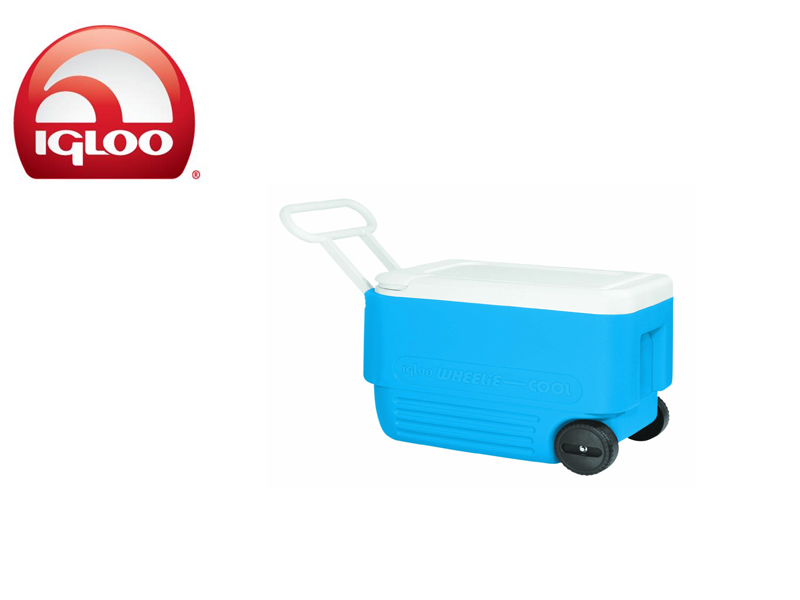 Igloo Cooler Wheelie Cool 38 (Blue, 36 liters)