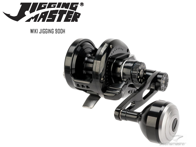 Jigging Master Wiki Jigging 900H (Type: Right Hand, Color: Black)