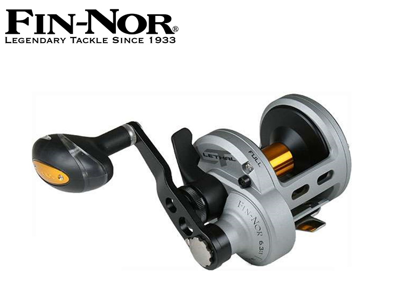 Fin-Nor Lethal Lever Drag Reel LTL20II 2speed